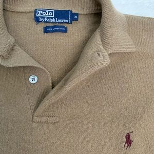 Vintage Polo Camel Sweater